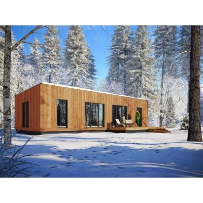 Modularna hiša 5+kk s teraso