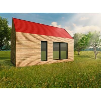 Modulový dům - garsoniéra