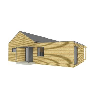 Modulový dům 15x12 m