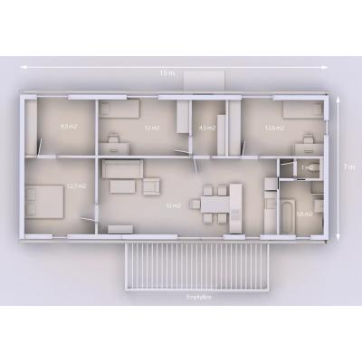 Rodinný dům 105